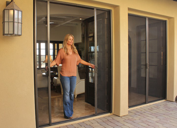 Boise, Idaho Retractable Screen Doors
