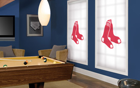 Major League Baseball Roller Shades