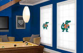 Collegiate Collection Roller Shades