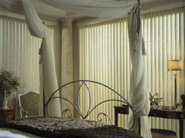 Boise Idaho Textured PVC Vertical Blinds